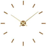 Dubové nalepovacie hodiny VLAHA Minimal VCT1040