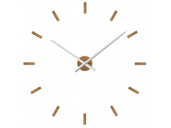 Dubové nalepovacie hodiny VLAHA Minimal VCT1041