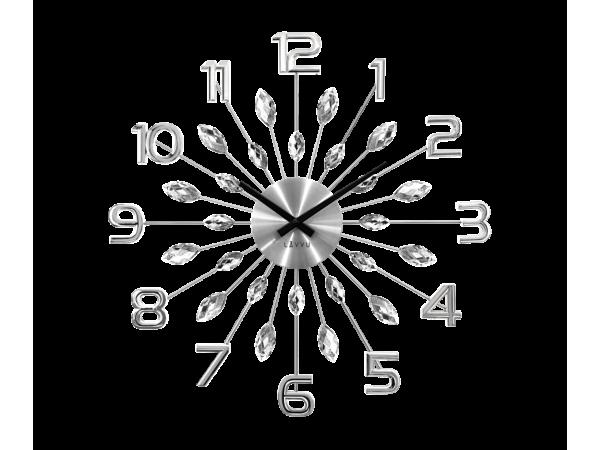 Nástenné hodiny LAVVU LCT1190 CRYSTAL SUN, 49 cm