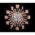 Nástenné hodiny LAVVU LCT1192 Crystal Sun, 49 cm