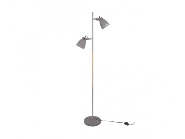 Podlahová lampa Leitmotiv Mingle iron LM1622, 152cm