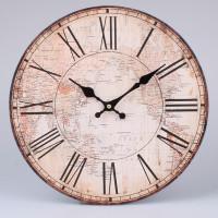 Nástenné hodiny HLC, Mapa, 34cm