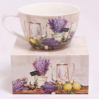 Porcelánová šálka, De Provence, 500ml