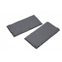 Bridlicové podložky KITCHEN CRAFT Artesa Slate Serving Mats, 20x10cm, 2ks