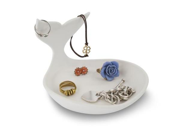 Miska na šperky J-ME Baby Whale Jewellery Dish, biela