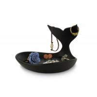 Miska na šperky J-ME Baby Whale Jewellery Dish, čierna