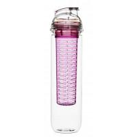 Fľaša s difuzérom SAGAFORM Fresh, 800ml, ružová