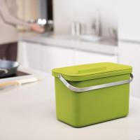 Nádobka na kompostovateľný odpad JOSEPH JOSEPH IntelligentWaste ™ Totem 4, zelená