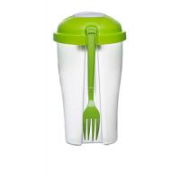 Salad Pot SAGAFORM To Go, 0,8 L, zelený