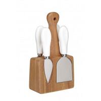 Nože na syr so stojanom KITCHEN CRAFT Artesa Cheese Knife Set