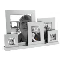 Fotorámik Present Time Family XXL , strieborný, 49cm