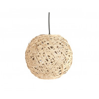 Závesná lampa Leitmotiv Nest round medium natural, 30cm