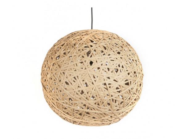 Závesná lampa Leitmotiv Nest round large natural, 50cm