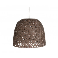 Závesná lampa Leitmotiv Nest cone large dark brown, 40cm