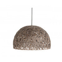 Závesná lampa Leitmotiv Nest dome large dark brown, 40cm