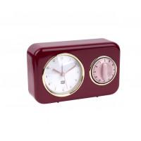 Kuchynské hodiny s časovačom Present Time Nostalgia, PT2970RD, 17cm