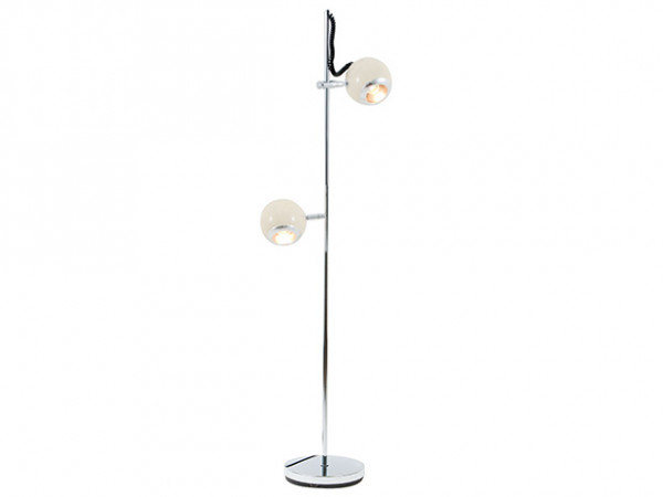 Podlahová lampa Leitmotiv, RETRO, Slonová kosť, 150cm