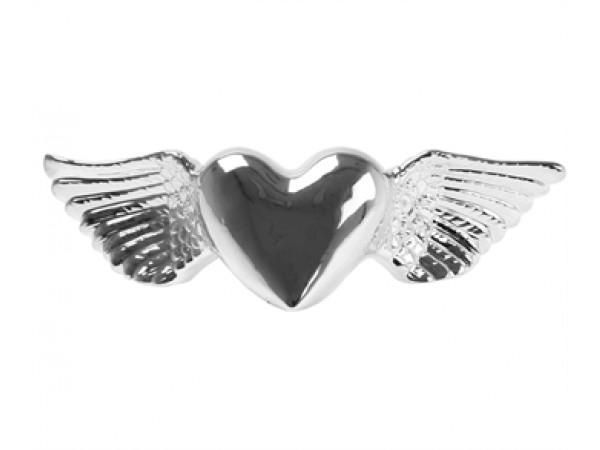 Pokladnička - okrídlené srdce, 33cm