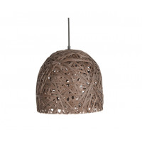 Závesná lampa Leitmotiv Nest cone medium dark brown, 30cm