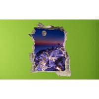 3D fototapeta, Santorini, 100 x120cm