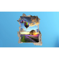3D fototapeta, Levandulove pole, 100 x120cm