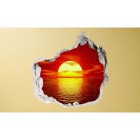3D fototapeta, Západ slnka, 100 x100cm
