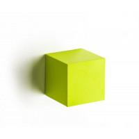 Nástenná krabička (uzatvorená) Qualy Pixel Cube, zelená