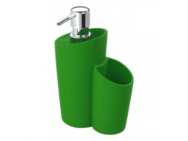 Dávkovač mydla Wenko Soft, zelený