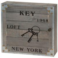 """Nostalgická skrinka na kľuče """"New York 1968"""
