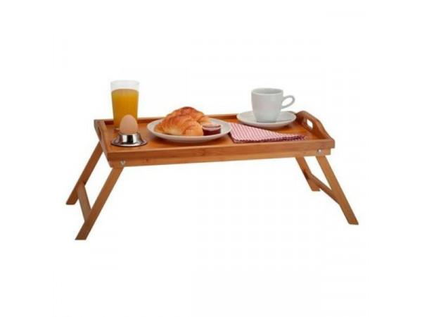 Stolík na raňajky do postele, Bamboo
