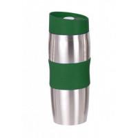Termohrnček Bergner, 380 ml z nerezovej ocele, zelený