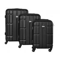 3-dielná sada kufrov Luggage 3 veľkosti Isot8756