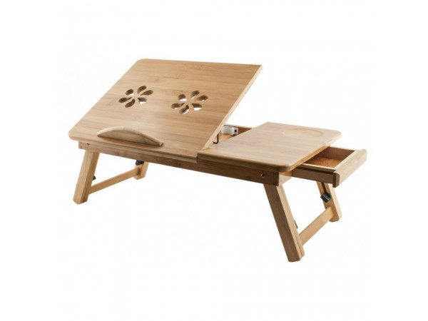 Stolík na notebook do postele Bamboo, Isot0515