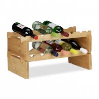 Stohovateľný stojan na víno Bambus 2, Rd3410.347