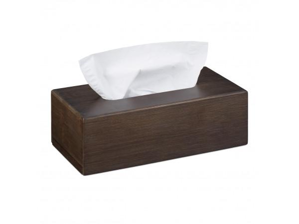 Krabička na papierové vreckovky, Tissue Box Bambus hnedy, RD3253