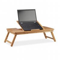 Stolík na notebook do postele Bambusový XL, RD2218