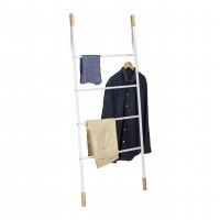 Vešiak / rebrík Ladder RD1852, 150cm, biely