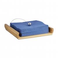 Bambusový držiak na servítky s ťažítkom, RD0958
