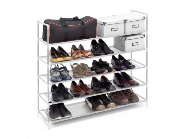 Botník pre 20 párov topánok, RD9128, biely