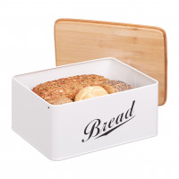 Kovový chlebník Bread Bamboo, RD2206