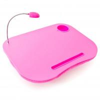 Laptop vankúš s Led svetlom ružový rd6334