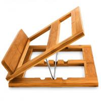 Držiak na kuchárske knihy z bambusu RD4658