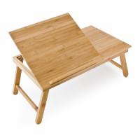 Stolík na notebook do postele Bambusový, RD6734