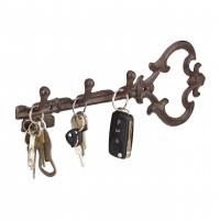 Vešiak na kľúče Antik, 3 háčiky, RD0623, 33cm