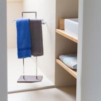 Držiak na  uteráky chrómovaný, RD9263, 87cm