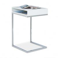 Bočný odkladací stolík RD0361, biely