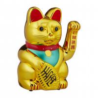 Čínska mačka pre Šťastie zlatá XL RD4239