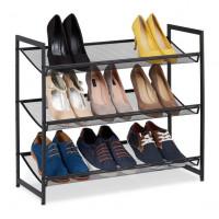 Kovový botník pre 9 párov topánok, RD9404