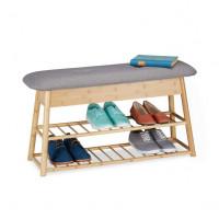 Lavica na topánky so sedadlom a úložným priestorom, RD0569