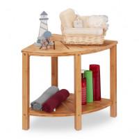 Rohový stôl z bambusu RD7595